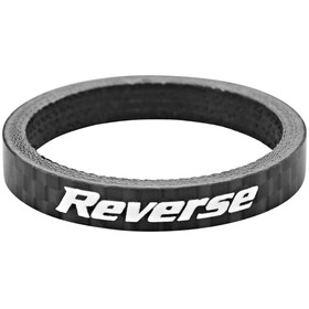"Reverse Spacer 5mm Carbon 1 1/8"" schwarz"